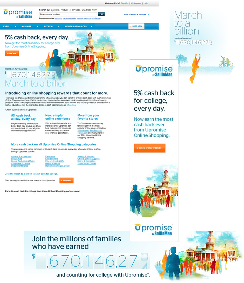 Upromise by Sallie Mae - Making the numbers add up